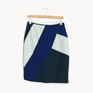 Maeve | Colorblock Pencil Skirt